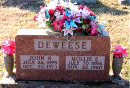 DEWEESE, JOHN N. - Carroll County, Arkansas | JOHN N. DEWEESE - Arkansas Gravestone Photos