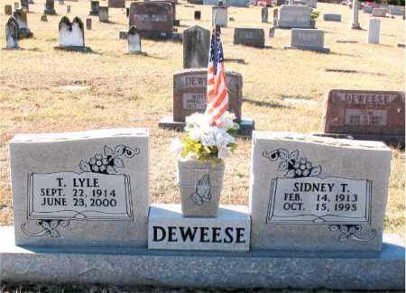 DEWEESE, SIDNEY T. - Carroll County, Arkansas | SIDNEY T. DEWEESE - Arkansas Gravestone Photos