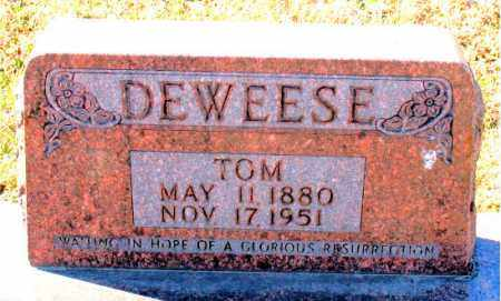 DEWEESE, TOM - Carroll County, Arkansas | TOM DEWEESE - Arkansas Gravestone Photos