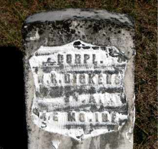 DICKENS  (VETERAN UNION), W  R - Carroll County, Arkansas | W  R DICKENS  (VETERAN UNION) - Arkansas Gravestone Photos