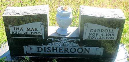 DISHERON, CARROLL - Carroll County, Arkansas | CARROLL DISHERON - Arkansas Gravestone Photos
