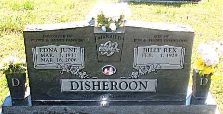 DISHEROON, EDNA JUNE - Carroll County, Arkansas | EDNA JUNE DISHEROON - Arkansas Gravestone Photos