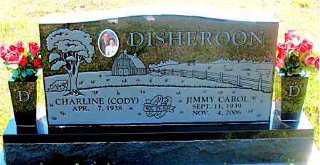 DISHEROON, JIMMY CAROL - Carroll County, Arkansas | JIMMY CAROL DISHEROON - Arkansas Gravestone Photos