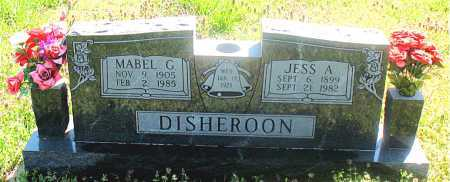 DISHEROON, JESS A. - Carroll County, Arkansas | JESS A. DISHEROON - Arkansas Gravestone Photos