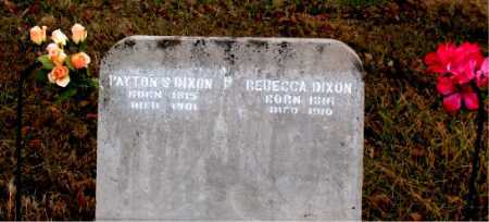 DIXON, REBECCA - Carroll County, Arkansas | REBECCA DIXON - Arkansas Gravestone Photos