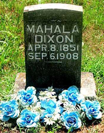 DIXON, MAHALA - Carroll County, Arkansas   MAHALA DIXON - Arkansas Gravestone Photos