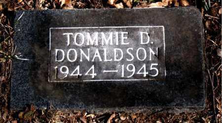 DONALDSON, TOMMIE D - Carroll County, Arkansas   TOMMIE D DONALDSON - Arkansas Gravestone Photos