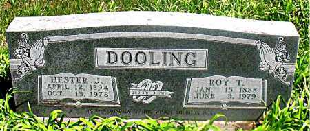 DOOLING, ROY T. - Carroll County, Arkansas | ROY T. DOOLING - Arkansas Gravestone Photos