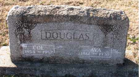 DOUGLAS, AVA - Carroll County, Arkansas | AVA DOUGLAS - Arkansas Gravestone Photos