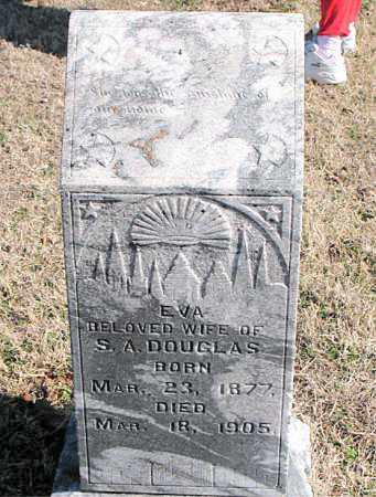 DOUGLAS, EVA - Carroll County, Arkansas | EVA DOUGLAS - Arkansas Gravestone Photos