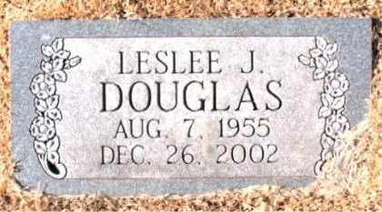 DOUGLAS, LESLEE J. - Carroll County, Arkansas | LESLEE J. DOUGLAS - Arkansas Gravestone Photos