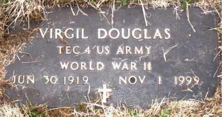 DOUGLAS (VETERAN WWII), VIRGIL - Carroll County, Arkansas | VIRGIL DOUGLAS (VETERAN WWII) - Arkansas Gravestone Photos