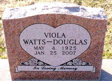 WATTS DOUGLAS, VIOLA - Carroll County, Arkansas | VIOLA WATTS DOUGLAS - Arkansas Gravestone Photos