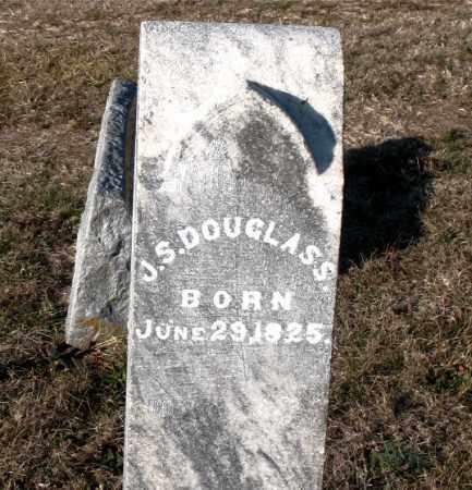 DOUGLASS, J.  S. - Carroll County, Arkansas | J.  S. DOUGLASS - Arkansas Gravestone Photos