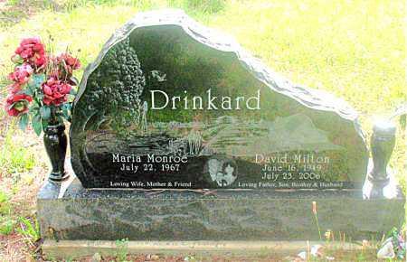 DRINKARD, DAVID  MILTON - Carroll County, Arkansas | DAVID  MILTON DRINKARD - Arkansas Gravestone Photos