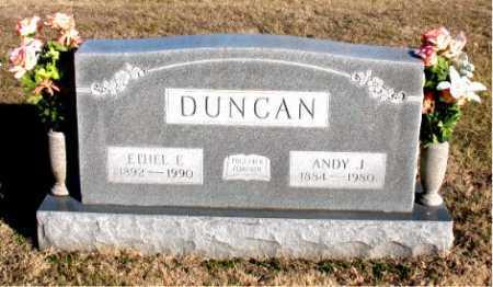 DUNCAN, ETHEL E. - Carroll County, Arkansas | ETHEL E. DUNCAN - Arkansas Gravestone Photos
