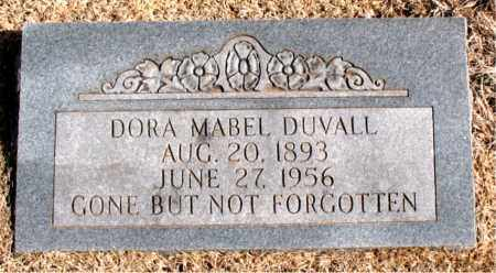 DUVALL, DORA  MABEL - Carroll County, Arkansas   DORA  MABEL DUVALL - Arkansas Gravestone Photos