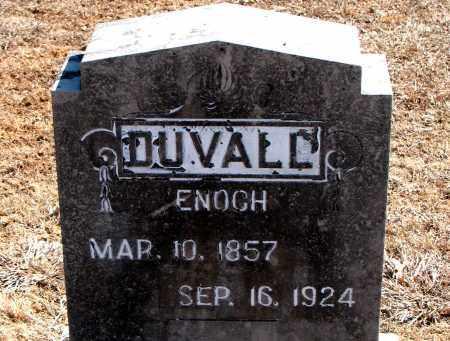 DUVALL, ENOCH - Carroll County, Arkansas | ENOCH DUVALL - Arkansas Gravestone Photos