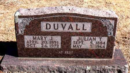 DUVALL, MARY  J. - Carroll County, Arkansas | MARY  J. DUVALL - Arkansas Gravestone Photos