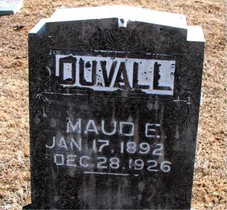 DUVALL, MAUD E. - Carroll County, Arkansas | MAUD E. DUVALL - Arkansas Gravestone Photos