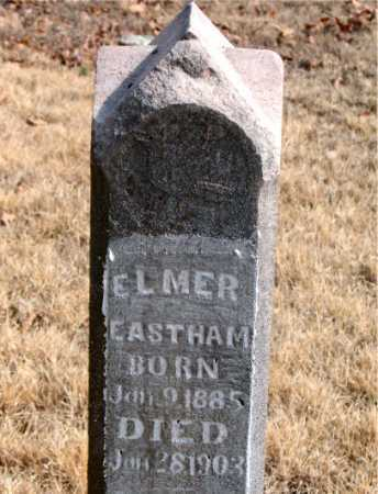 EASTHAM, ELMER - Carroll County, Arkansas | ELMER EASTHAM - Arkansas Gravestone Photos