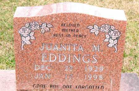 EDDINGS, JAUNITA M. - Carroll County, Arkansas   JAUNITA M. EDDINGS - Arkansas Gravestone Photos
