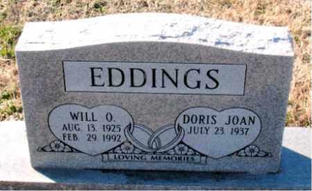 EDDINGS, WILL O. - Carroll County, Arkansas | WILL O. EDDINGS - Arkansas Gravestone Photos