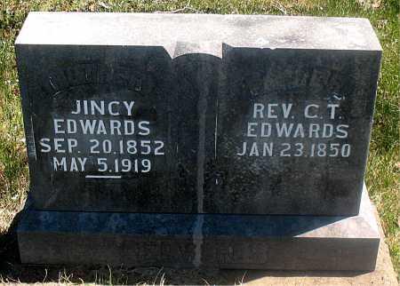 EDWARDS, JINCY - Carroll County, Arkansas | JINCY EDWARDS - Arkansas Gravestone Photos