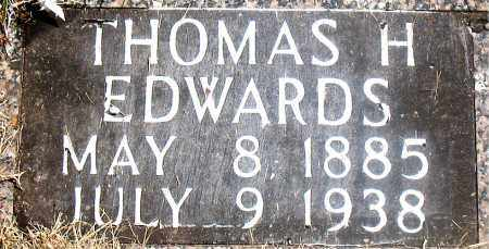 EDWARDS, THOMAS H. - Carroll County, Arkansas | THOMAS H. EDWARDS - Arkansas Gravestone Photos