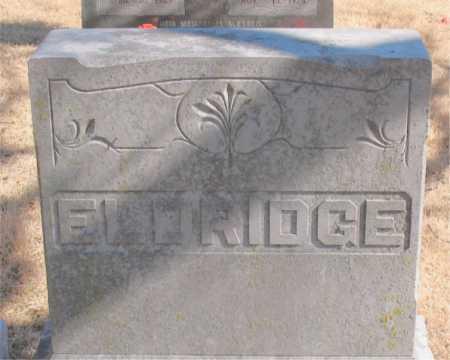 ELDRIDGE, OLLIE - Carroll County, Arkansas   OLLIE ELDRIDGE - Arkansas Gravestone Photos