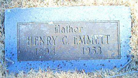 EMMETT, HENRY C. - Carroll County, Arkansas   HENRY C. EMMETT - Arkansas Gravestone Photos