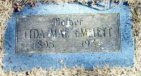 EMMETT, LIDA MAE - Carroll County, Arkansas | LIDA MAE EMMETT - Arkansas Gravestone Photos