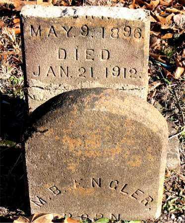 ENGLER, M. B. - Carroll County, Arkansas | M. B. ENGLER - Arkansas Gravestone Photos