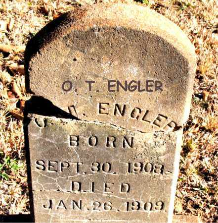 ENGLER, O. T. - Carroll County, Arkansas | O. T. ENGLER - Arkansas Gravestone Photos