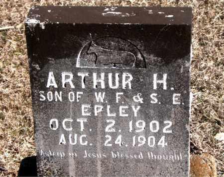 EPLEY, ARTHUR H - Carroll County, Arkansas   ARTHUR H EPLEY - Arkansas Gravestone Photos