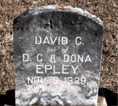 EPLEY, DAVID C - Carroll County, Arkansas | DAVID C EPLEY - Arkansas Gravestone Photos