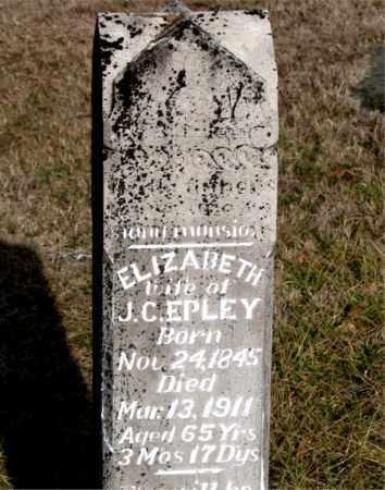 EPLEY, ELIZABETH - Carroll County, Arkansas | ELIZABETH EPLEY - Arkansas Gravestone Photos