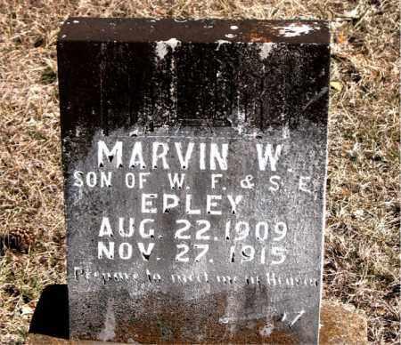 EPLEY, MARVIN W. - Carroll County, Arkansas | MARVIN W. EPLEY - Arkansas Gravestone Photos