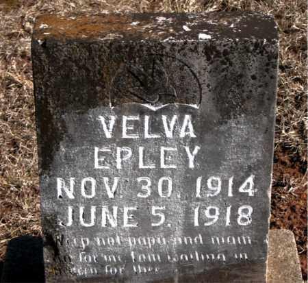 EPLEY, VELVA - Carroll County, Arkansas | VELVA EPLEY - Arkansas Gravestone Photos