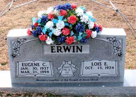 ERWIN, EUGENE C - Carroll County, Arkansas | EUGENE C ERWIN - Arkansas Gravestone Photos