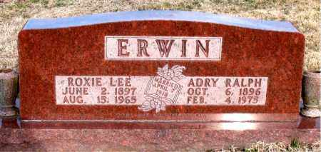 ERWIN, ROXIE  LEE - Carroll County, Arkansas   ROXIE  LEE ERWIN - Arkansas Gravestone Photos