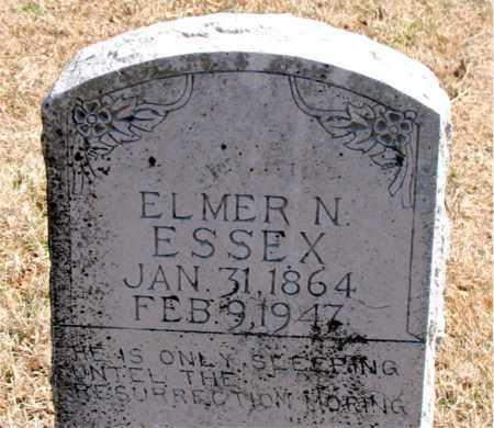ESSEX, ELMER N. - Carroll County, Arkansas   ELMER N. ESSEX - Arkansas Gravestone Photos