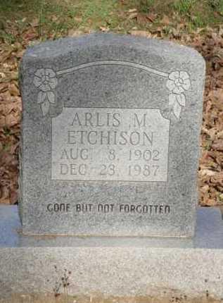 ETCHISON, ARLIS M. - Carroll County, Arkansas | ARLIS M. ETCHISON - Arkansas Gravestone Photos