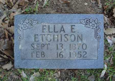 ETCHISON, ELLA E. - Carroll County, Arkansas | ELLA E. ETCHISON - Arkansas Gravestone Photos