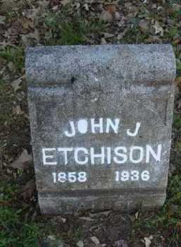 ETCHISON, JOHN J. - Carroll County, Arkansas | JOHN J. ETCHISON - Arkansas Gravestone Photos
