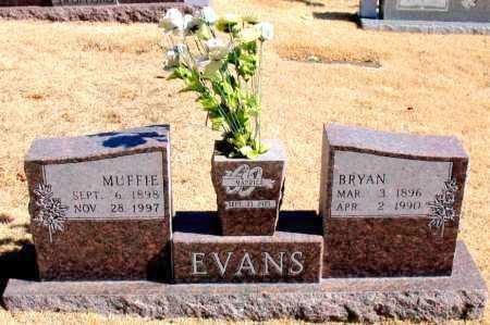 EVANS, BRYAN - Carroll County, Arkansas | BRYAN EVANS - Arkansas Gravestone Photos