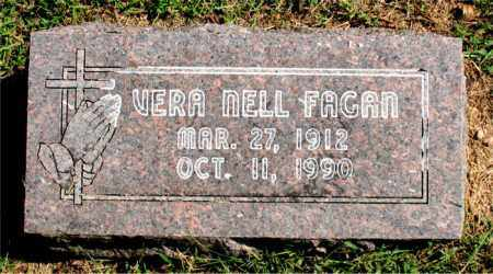 FAGAN, VERA NELL - Carroll County, Arkansas | VERA NELL FAGAN - Arkansas Gravestone Photos