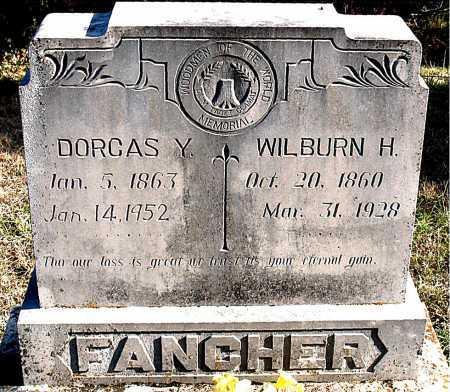 FANCHER, DORCAS  Y. - Carroll County, Arkansas | DORCAS  Y. FANCHER - Arkansas Gravestone Photos