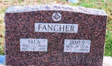 FANCHER, ELLA - Carroll County, Arkansas | ELLA FANCHER - Arkansas Gravestone Photos