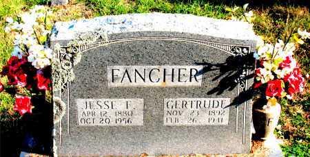 FANCHER, JESSE  F. - Carroll County, Arkansas | JESSE  F. FANCHER - Arkansas Gravestone Photos